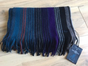 Paul Smith men's striped scarf bnwt rrp £125