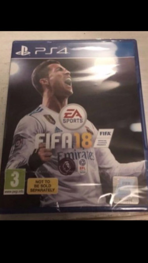 Brand New/Sealed Fifa 18 PS4