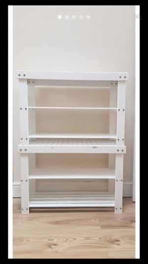 Shoe rack vgc