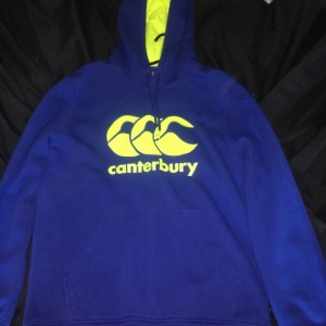 Canterbury jumper never been worn perfect condition. size m