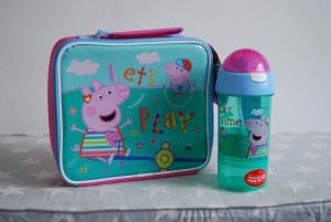 Peppa pig lunchbox set