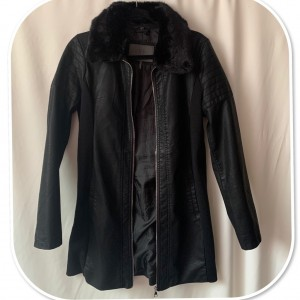 Stunning Women's Faux  Leather Summer Coat by Ci Sono
