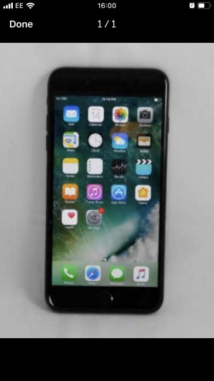 I Phone 7 128GB Black Unlocked