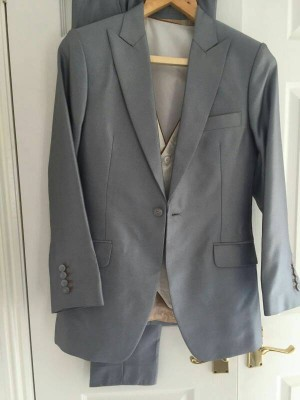 Civil wedding suit