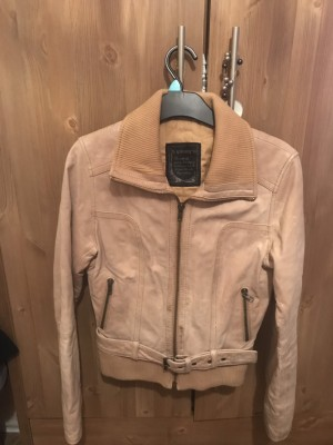 Real leather jacket padded Collection Arnold Nottingham