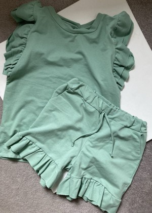 Mint green cotton co or m