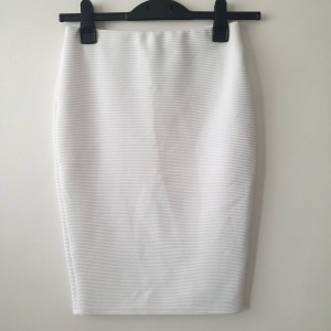 New look size 8 white skirt
