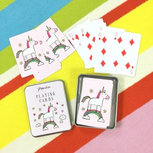 Paperchase UNICORN Playing Cards NEW Novelty Game Gift Present