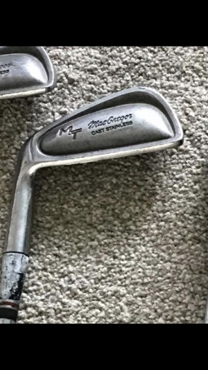Macgregor left handed golf Irons