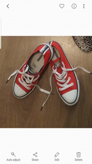 Red Converse - 4(37)