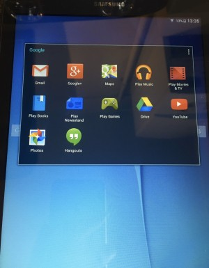 Samsung Tablet. 8gig. As new condition
