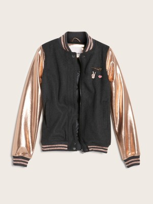 bomber jacket rose gold. brand new