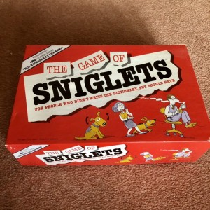 The Game Of Sniglets 1990 HBO Comedy Series Retro Vintage Board Game G