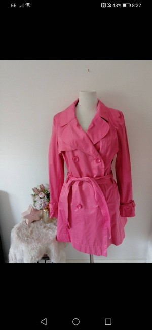 Pink trench from New Look