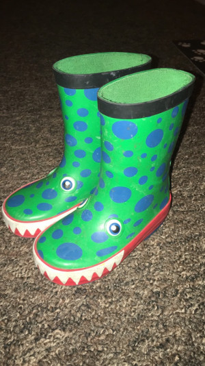 Next crocodile wellies. Size 5. RRP £14 selling for £5