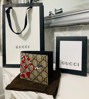 Gucci Snake Leather Wallet