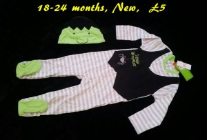 New Baby hallowedn outfit 18-24 months