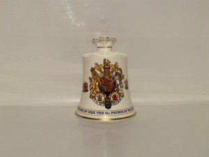 Vintage Porcelain Bell Royal Family To Commemorate The Marriage