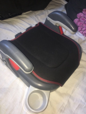 Children's Booster Seat With Cup Holder