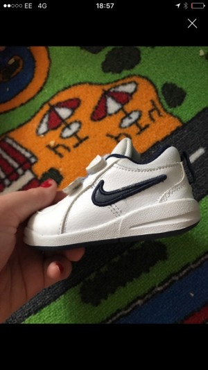 Baby nikes 3.5 great condition