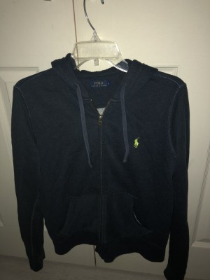 Authentic Ralph Lauren jacket small rip on one sleeve
