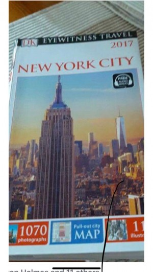 DK New York guide book