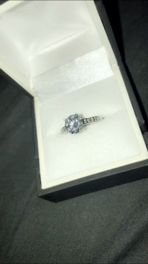 Chapelles engagement ring