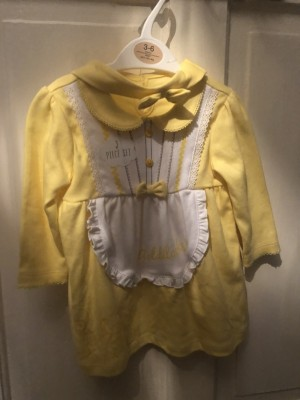 Goldilocks dress