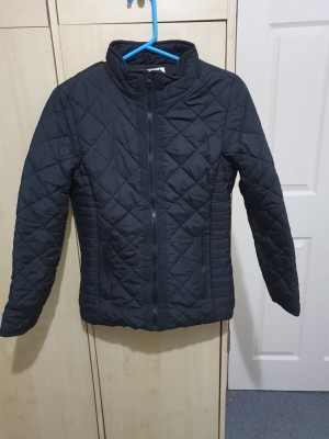 Black winter coat 12 to 13 yrs old