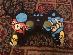Rare Simpsons PS2 Controller