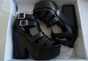 Sandal boots size 6 never worn spare pair
