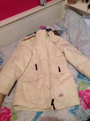 Helly Hansen coat age 12 but fits size 6