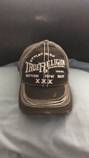 True religion men's hat