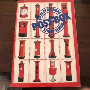 Stanley Gibbons's Postbox Stamp Album Book Paperback Old Unused