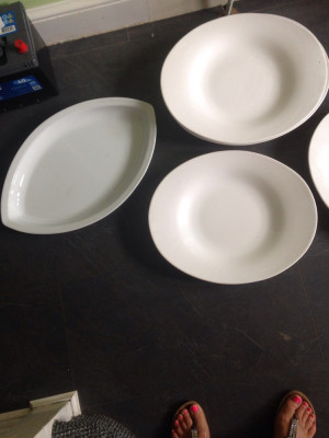 Platters for buffets etc