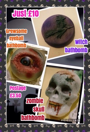 Bath bomb sets on offer today only 13.50 x