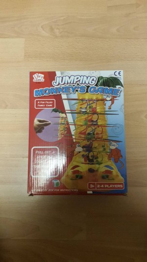 A To Z Jumping Monkey Game
