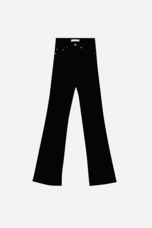 Pull & Bear black flare jeans size 10/m