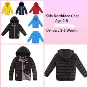North face coats