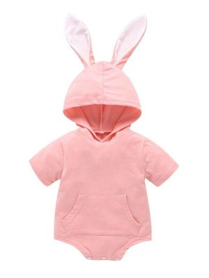 Baby Rabbit Ear Hooded body suit