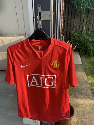 Manchester United Shirt with Wayne Rooney // Size M // Very Rare