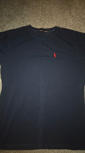 navy blue Ralph Lauren t shirt