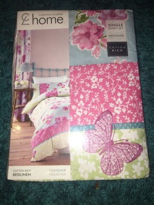 Catherine lansfield single bedding