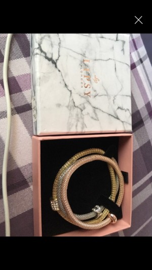 Lipsy bracelets in box never been worn