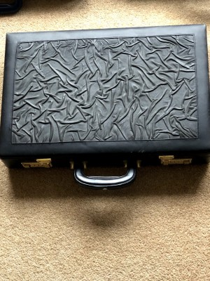 Antique Brief Case (Black)