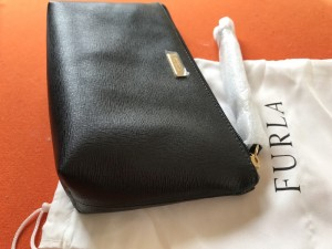 New Large Black Furla Purse