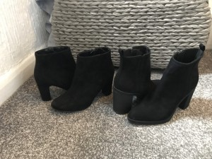 Ladies black boots size 3 good condition Collection Arnold Nottingham