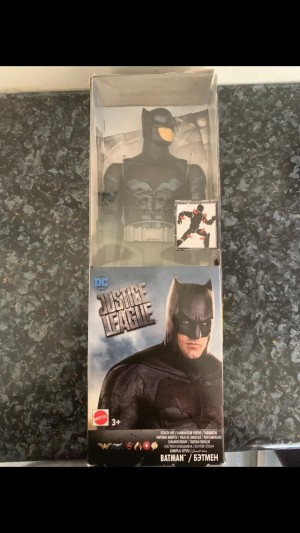 "DC Justice League 12"" Batman (Stealth Suit)."