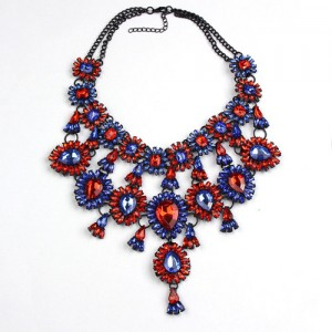 Stunning Bib Statement Necklace
