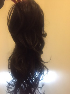 get yourselves  ponytail wig (brand new)